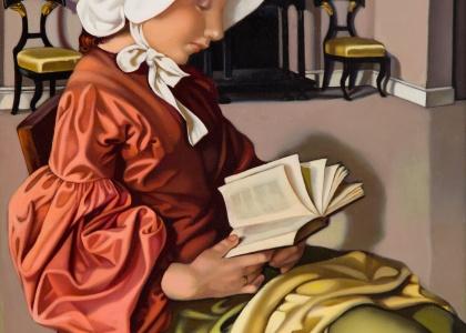 Portret autorstwa Tamary Łempickiej na aukcji