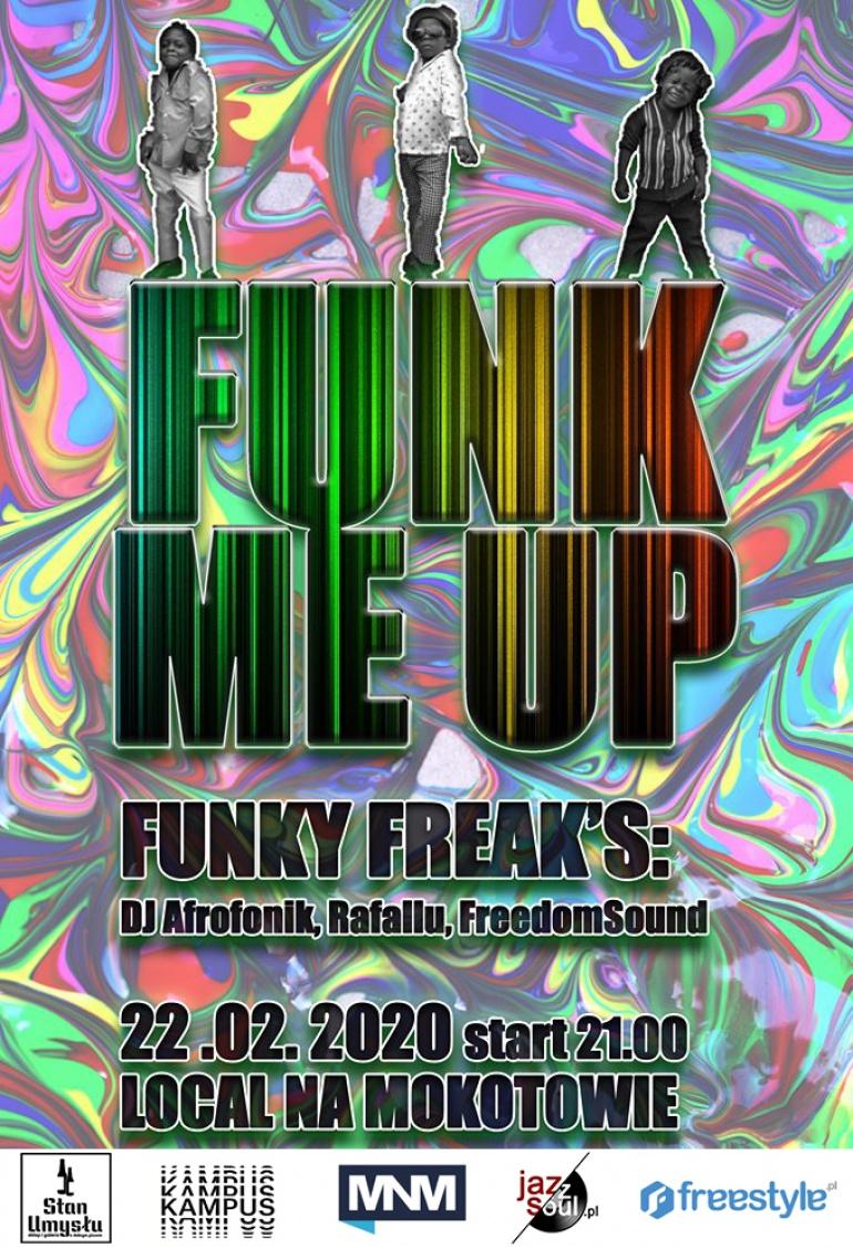 FUNK ME UP - funk soul boogie groove rap