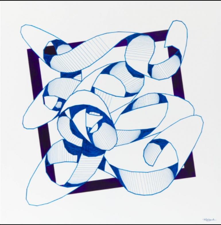 Wibrujące kolorami dzieła na wystawie młodej sztuki