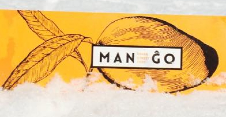 Mango vegan street food