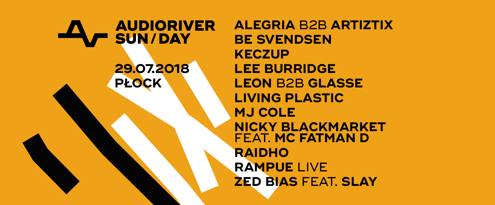 Audioriver 2018 sunday line up